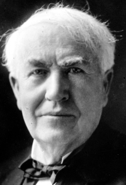 National Inventors Hall Of Fame Inductee Thomas Edison And